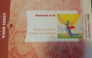 Boek: Dementie en ik